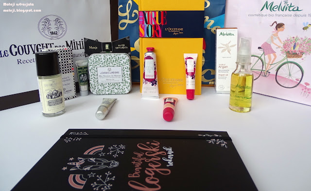 Le Couvent des Minimes deodorant, Gardeners krema, L'Occitane, Melvita arganovo olje