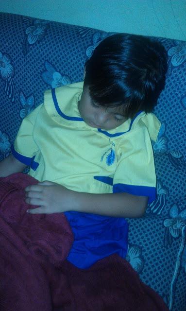anak bangun sahur