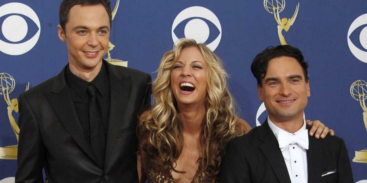 El Cast de 'The Big Bang Theory' en los Emmy