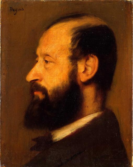 Эдгар Дега - Портрет Жозефа-Анри Альтеса (1868)