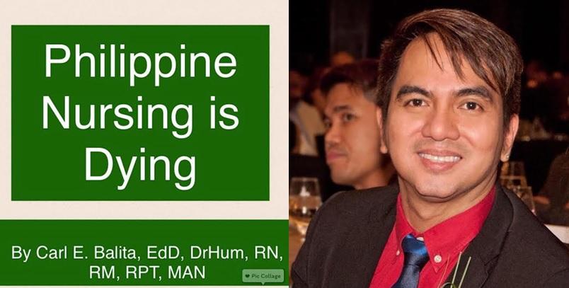 "Nurse advocate says ""Philippine nursing is dying"""