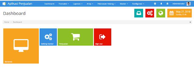Source Code Aplikasi Penjualan dengan PHP