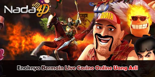 Enaknya Bermain Live Casino Online Uang Asli