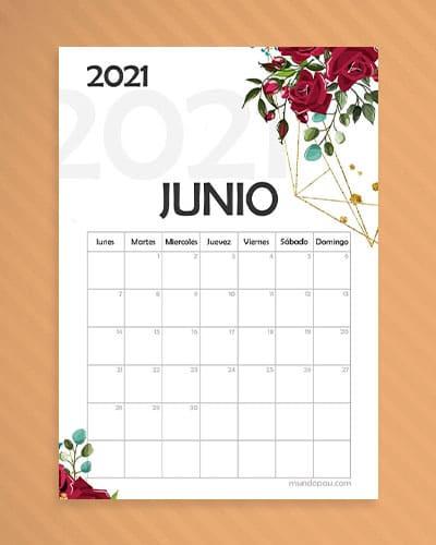 Calendario Junio 2021