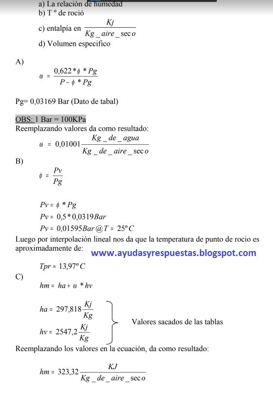 reemplazando los valores en la ecuacion