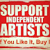 Viral Artist Memes about Supporting Artists and Inspiration