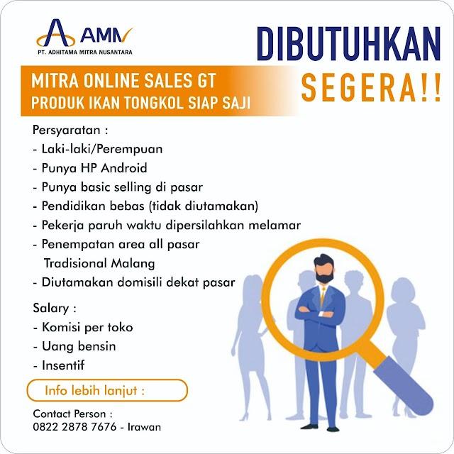 Loker Malang Terbaru PT. Adhitama Mitra Nusantara