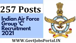 Airforce Jobs for 257 Posts