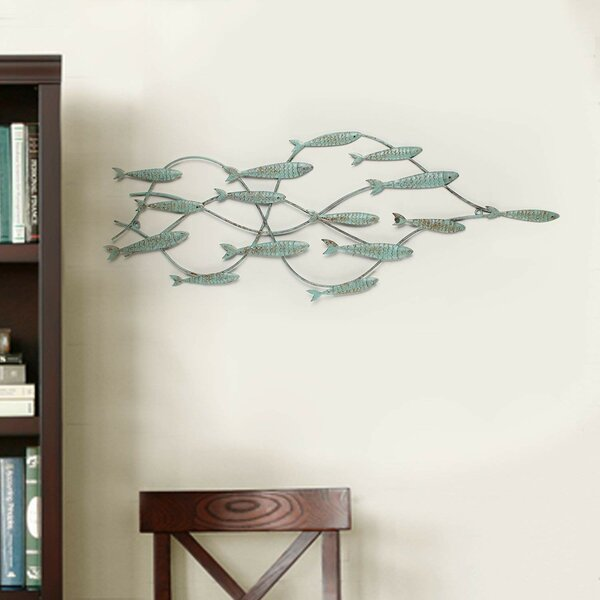 School of Fishes Wall Decor