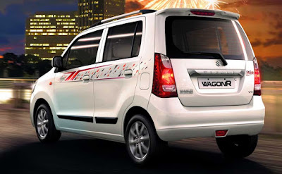 2016 Maruti Suzuki WagonR Felicity limited edition rear look