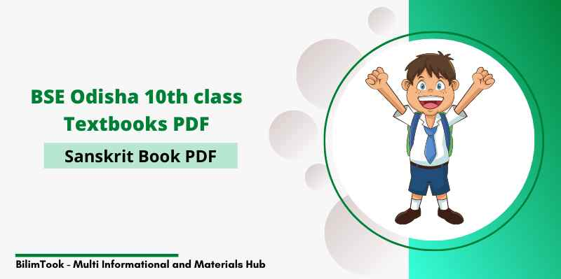 BSE Odisha Class 10th Sanskrit Book PDF Download 2020