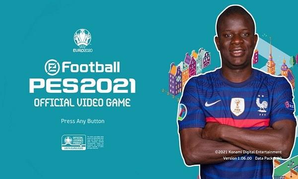 PES 2021 Mod EURO 2020 Menu v3