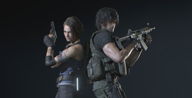 Resident Evil 3 Remake - Jill and Carlos