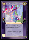 My Little Pony Jest Clowning Around Marks in Time CCG Card