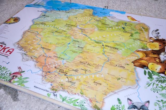 MAPA POLSKI DLA DZIECI, czyli prawdziwa gratka dla małych odkrywców (i rabat dla was)