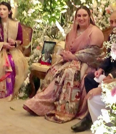 Bakhtawar Bhutto Engagement In Pics 5