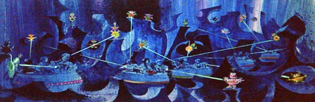 Black Hole Disneyland Never Built Ride Concept Art