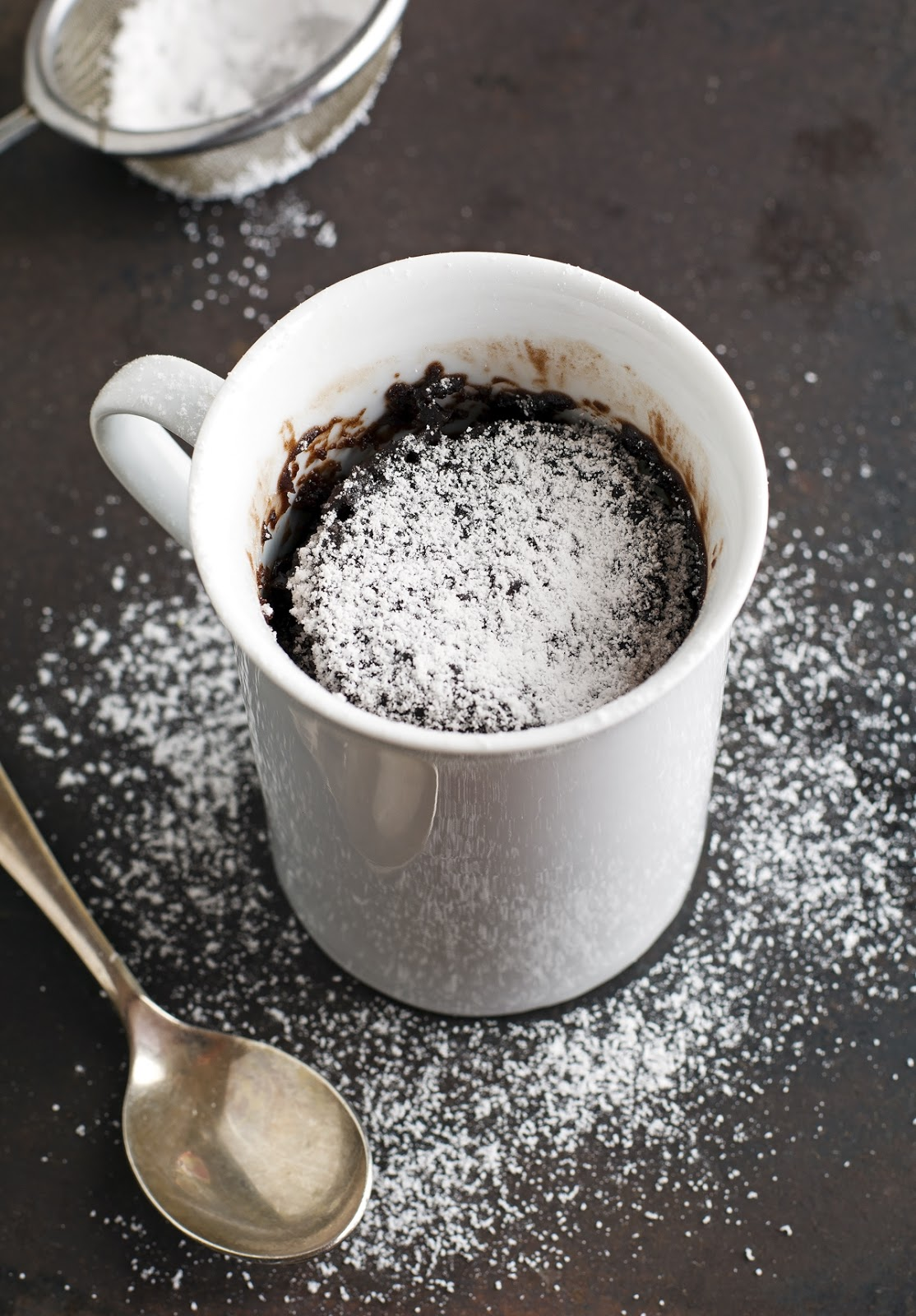 (Vegan) Easy 3-Minute Brownie In A Mug