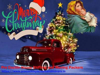 Packers and Movers Happy Christmas Wishes
