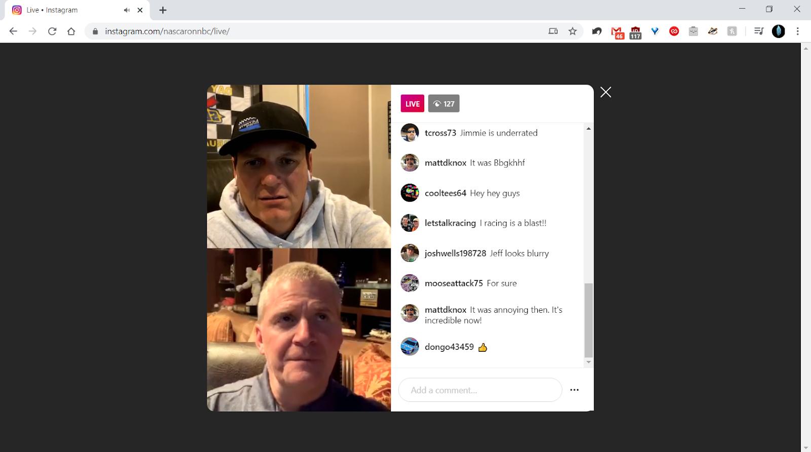 Dirette streaming di Instagram anche dal Web