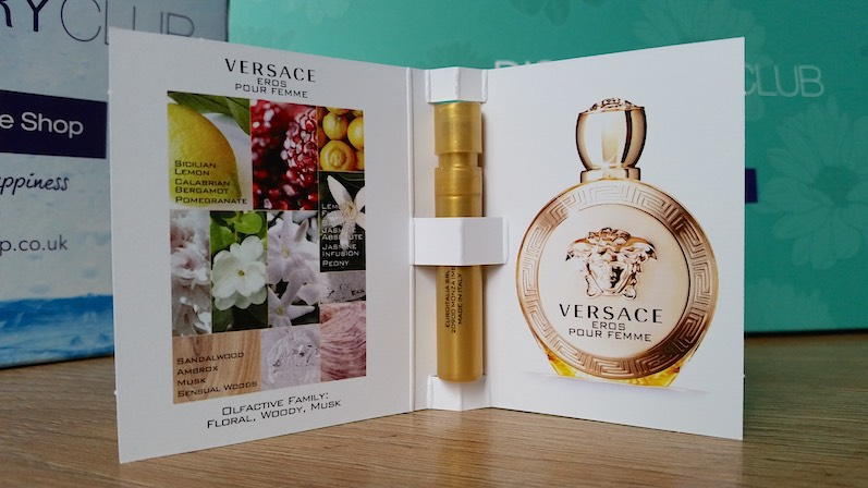 Versace Eros Pour Femme The Fragrance Shop Discovery Club Spring 2015