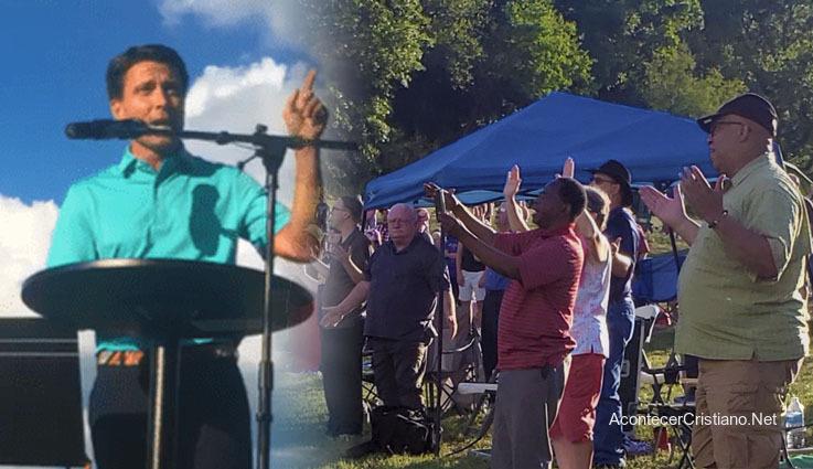 Alcalde de Ashland, Matt Miller, entrega la ciudad a Jesucristo