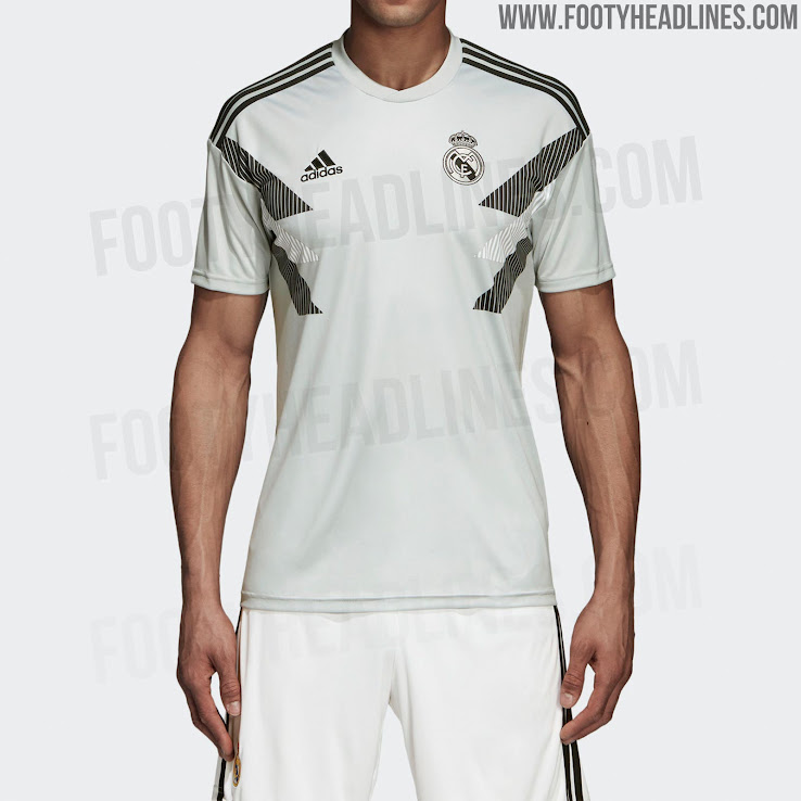 Adidas x Parley Real Madrid 2019 Pre Match Jersey Released