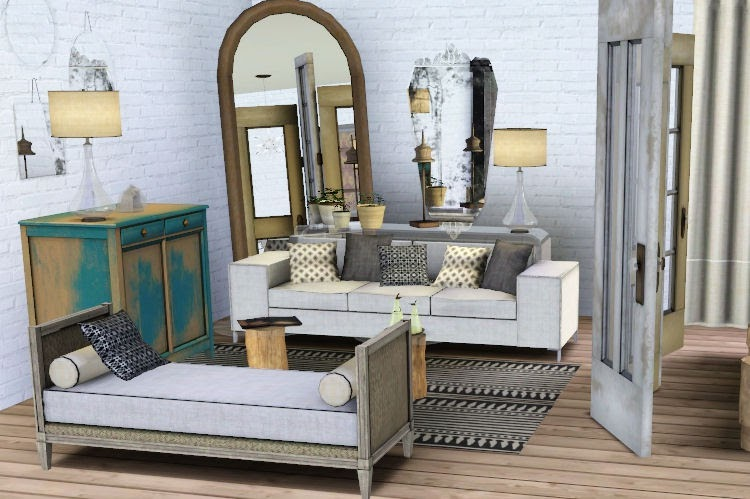My Sims 3 Blog New Living Room Set By Heidi And Dining