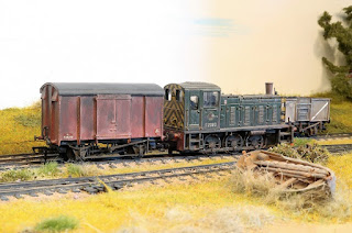 Dury's Gap is a  OO scale micro layout