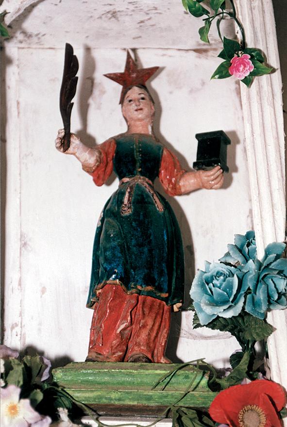 Santa Bárbara de Lorante, Cangas de Narcea