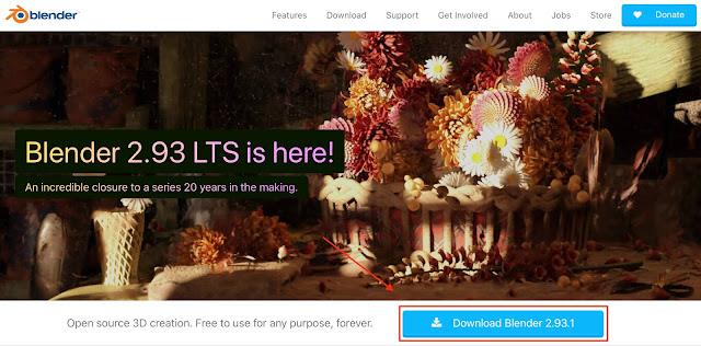 Official Website for Blender