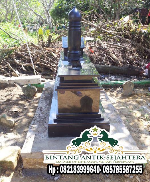 Jual Makam Granit Black Nero | Harga Makam Granit