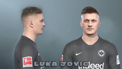 PES 2019 Faces Luka Jović by Prince Hamiz