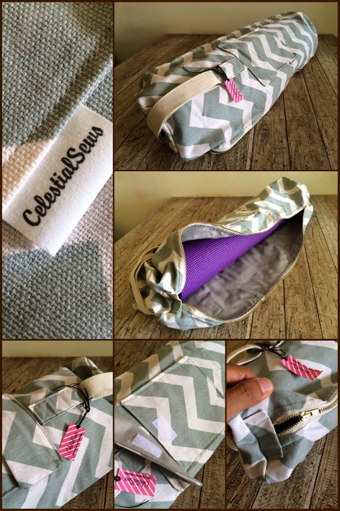 Yoga Bags by CelestialSews Etsy Store