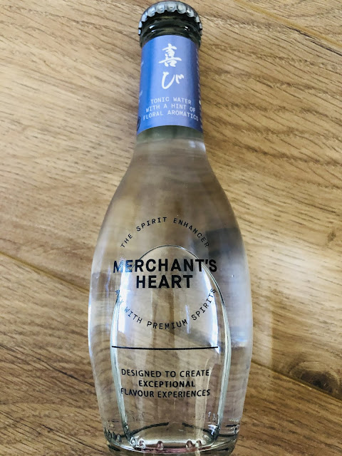 Merchant's heart floral tonic water