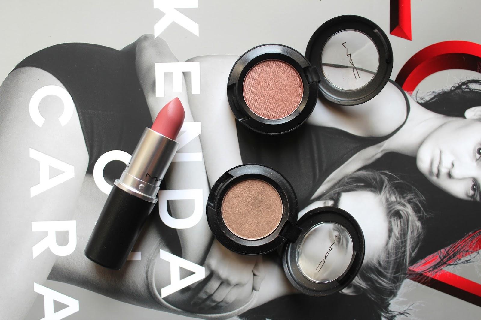 mac cosmetics haul bblogger bblogger beauty make up lipstick swatch eyeshadow instagram blog blogger patina frost sable brave satin finish