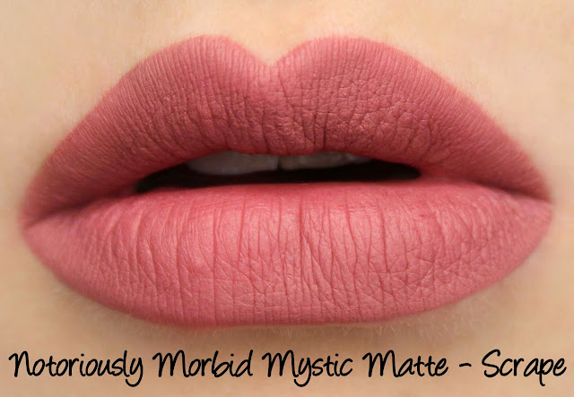 Notoriously Morbid Scrape Mystic Matte Swatches & Review