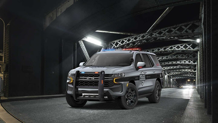 Chevrolet Tahoe 2021 có thêm phiên bản dành cho cảnh sát