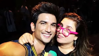 Farah khan share BTS video of 'Dil Bechara' title track where sushant singh rajput practicing