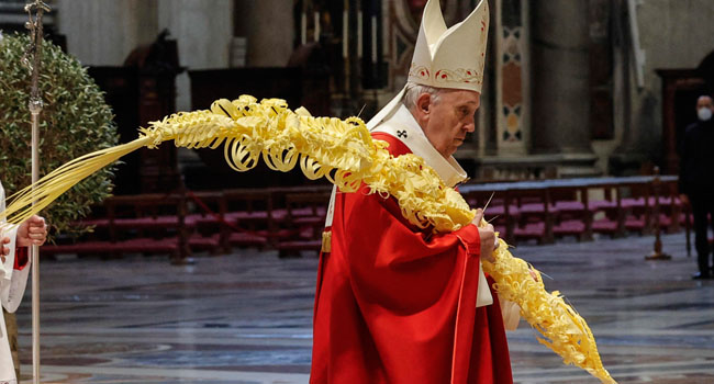 Palm Sunday: Admiring Jesus Is Not Enough, We've To Follow His Footsteps – Pope Francis