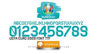 Font EURO 2020