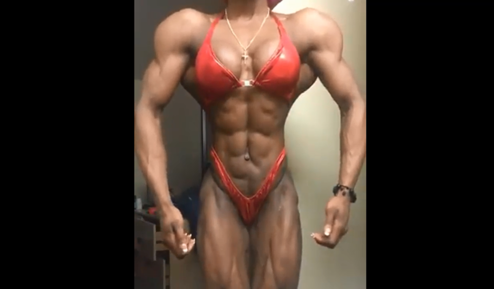Clip of this incredibly inspiring woman bodybuilder