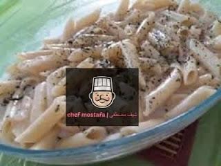 Pasta with milk