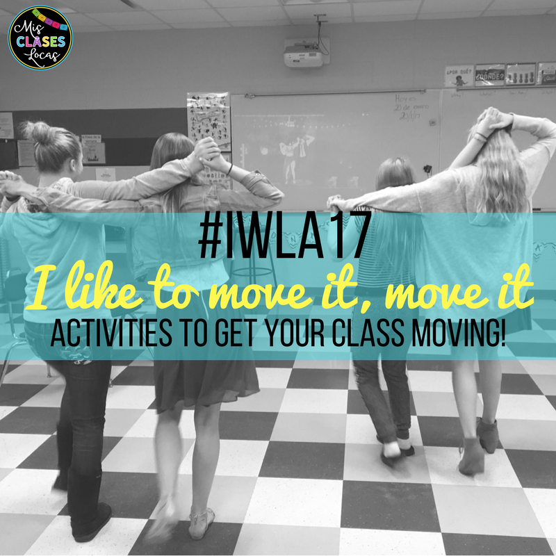 #IWLA17 Presentation - I like to move it, move it