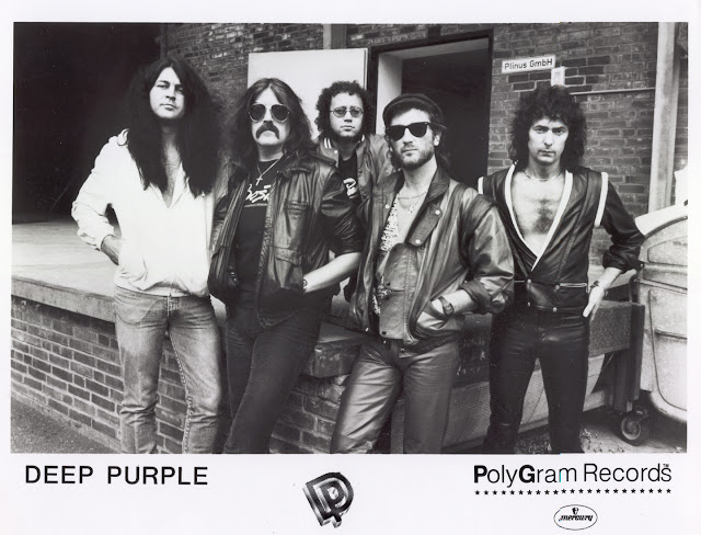Deep Purple circa 1983