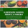 Alimentação saudável durante a pandemia