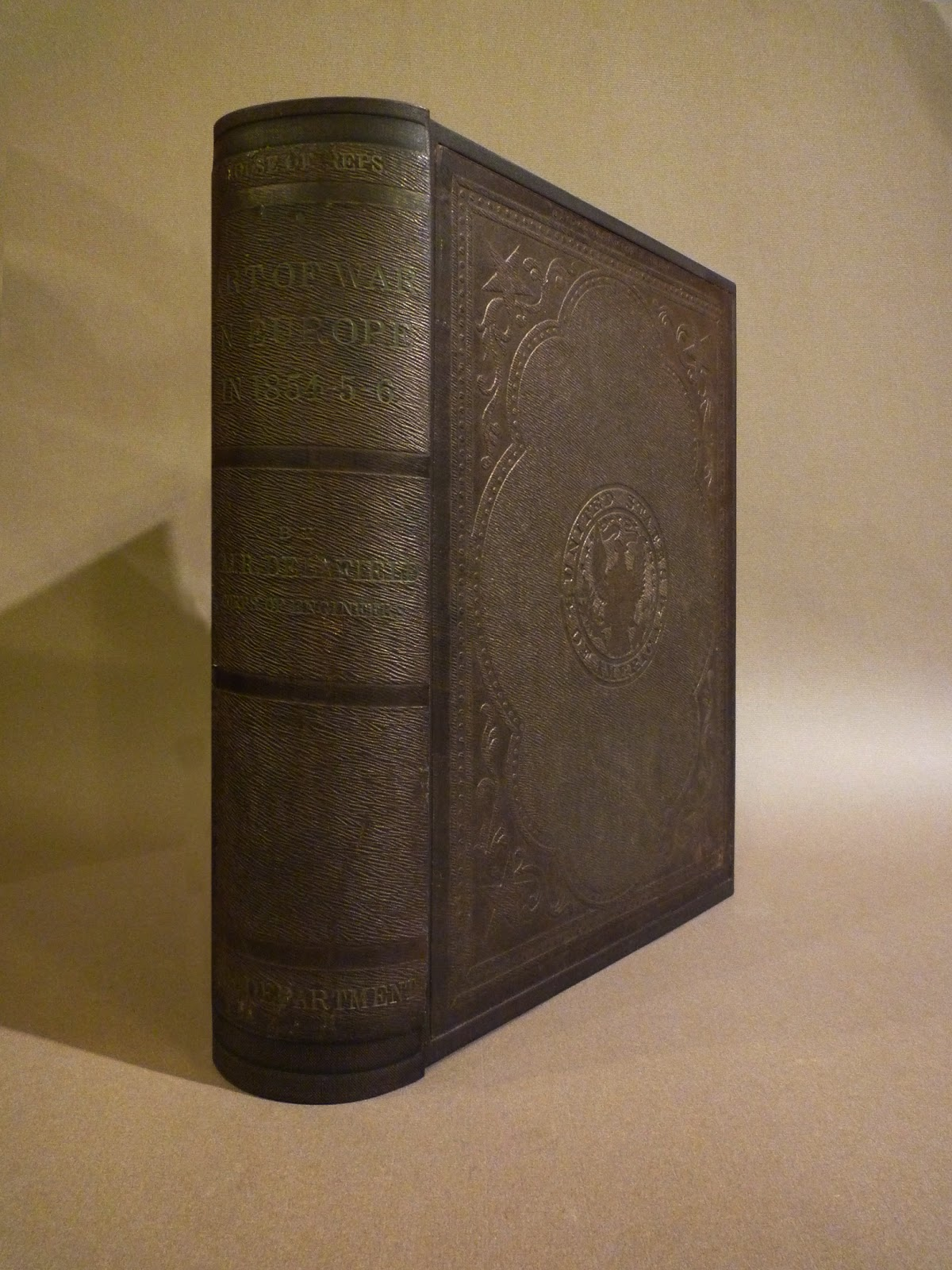 Report on the art of war in europe in 1854