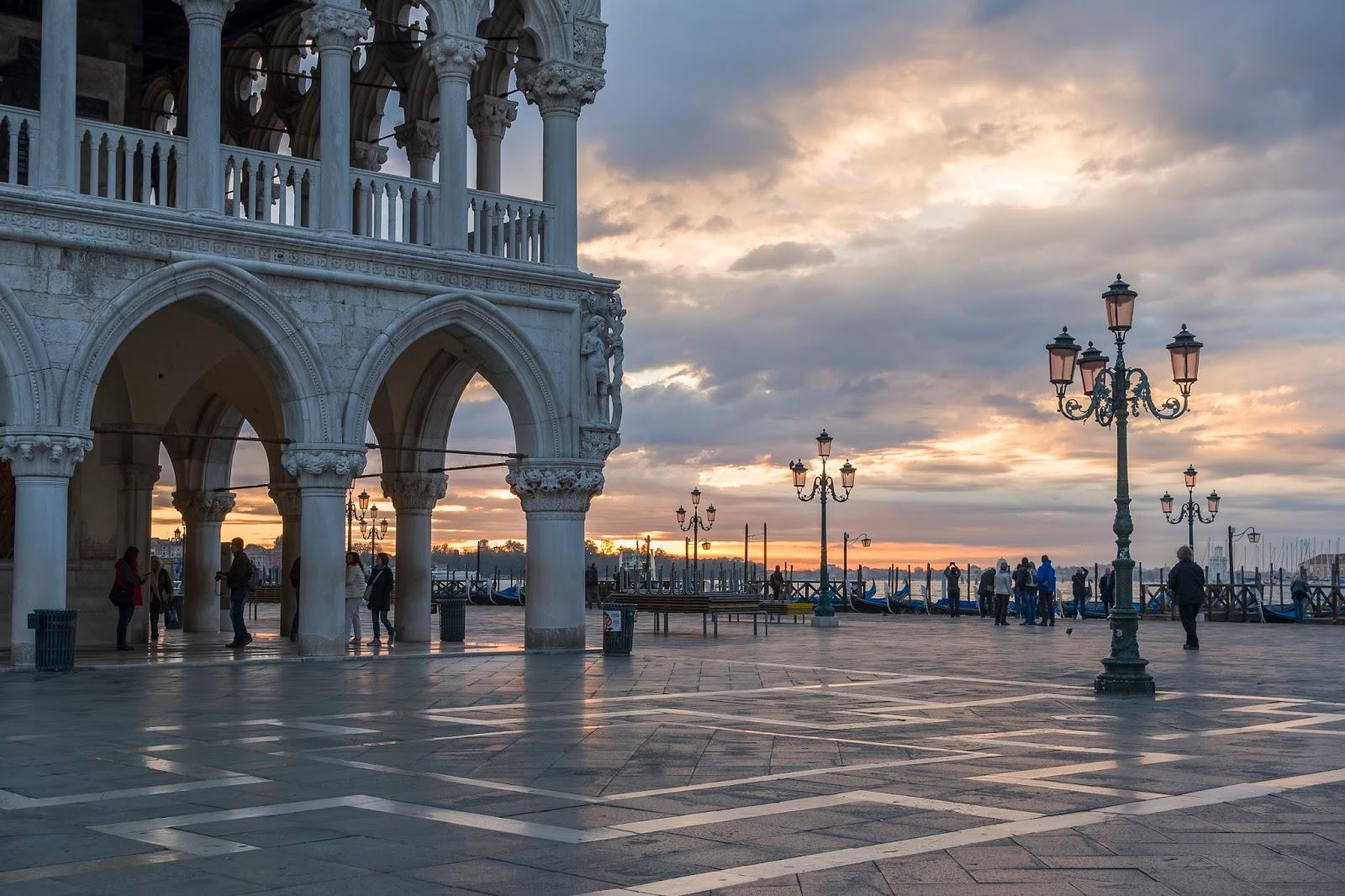 Place San Marco Venise Italie