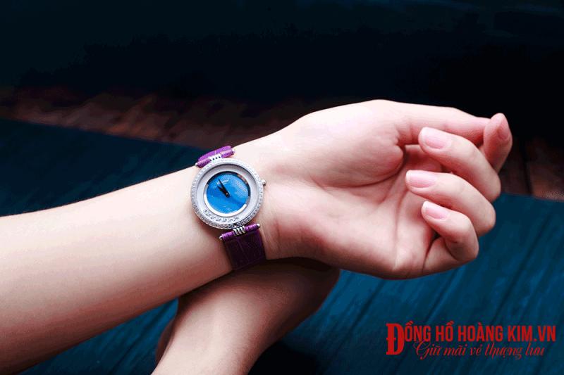 đồng hồ nữ đẹp dây da mới về