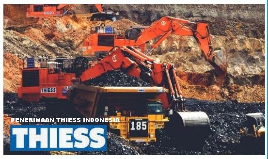 PT Thiess Contractors Indonesia Tingkat SMA SMK Bulan Januari 2019